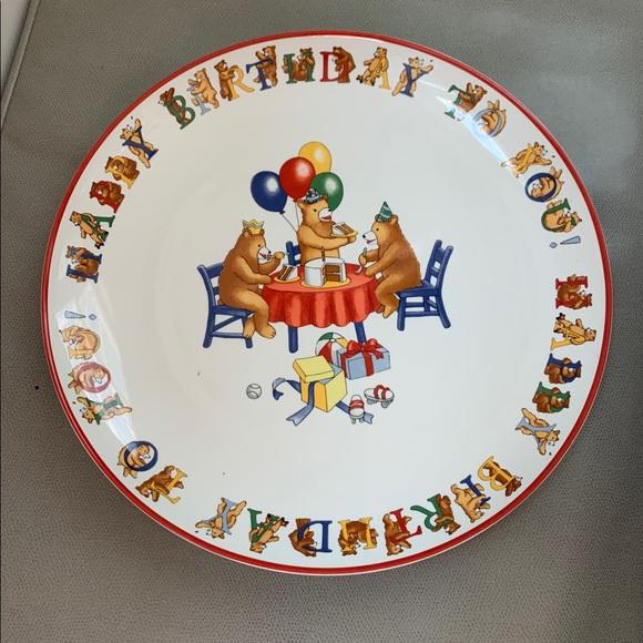 Awesome Tiffany Co Dining Tiffany Birthday Cake Platter Poshmark Birthday Cards Printable Trancafe Filternl